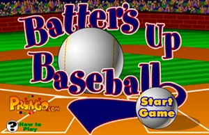 Batter's Up Baseball (math game)