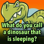 What do you call a dinosaur that is sleeping?