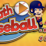 Math Baseball Game