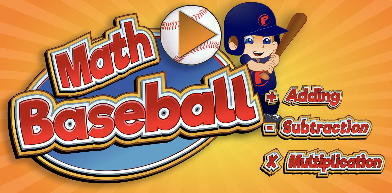 Math Baseball Game