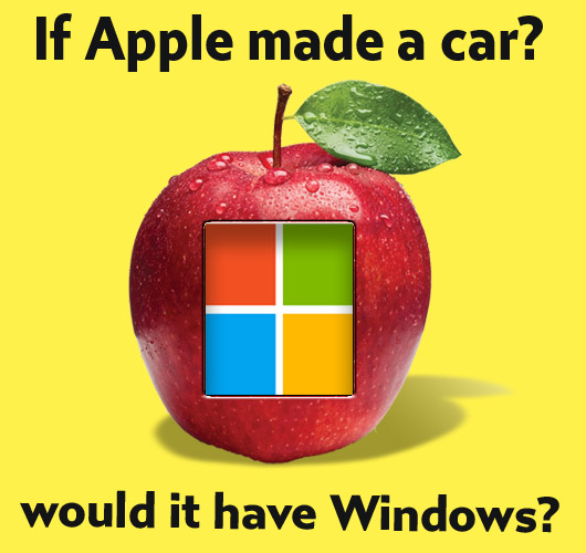 Joke: If Apple made a car, would it have windows?