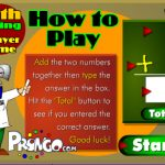 2-Player Math game. Addition