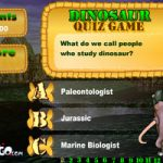 Dinosaur Quiz Game