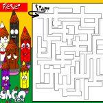 Maze drawing!