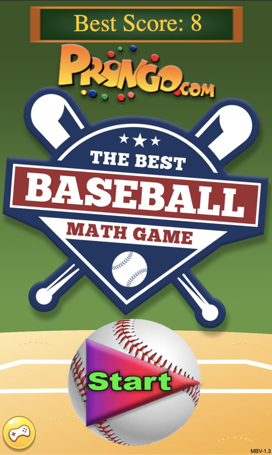 The Best Baseball Math Game