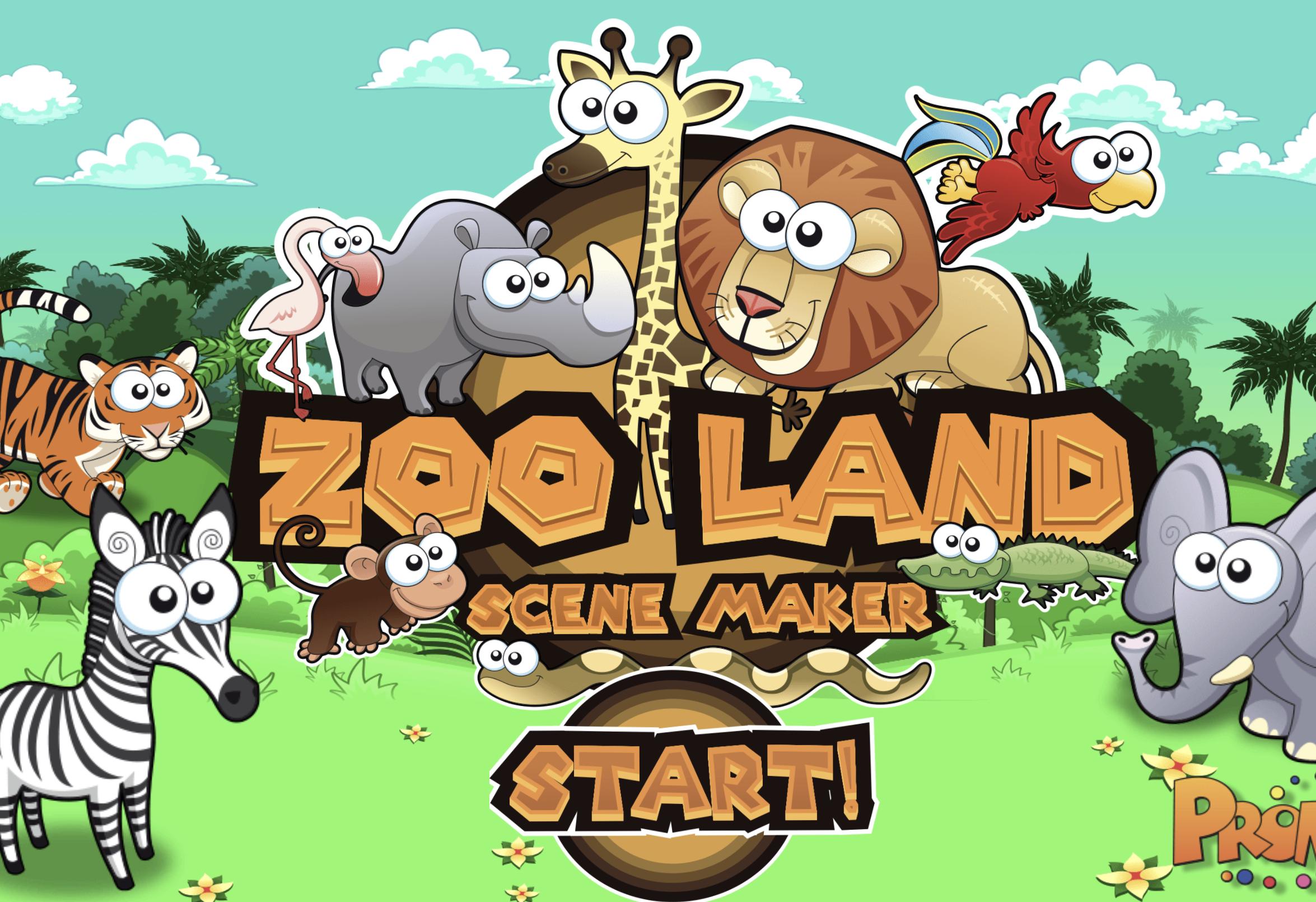 Zoo Land Scene Maker