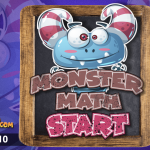 Monster Math Multiplying 1-10