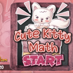 Cute Kitty Math Game – Adding 1-20