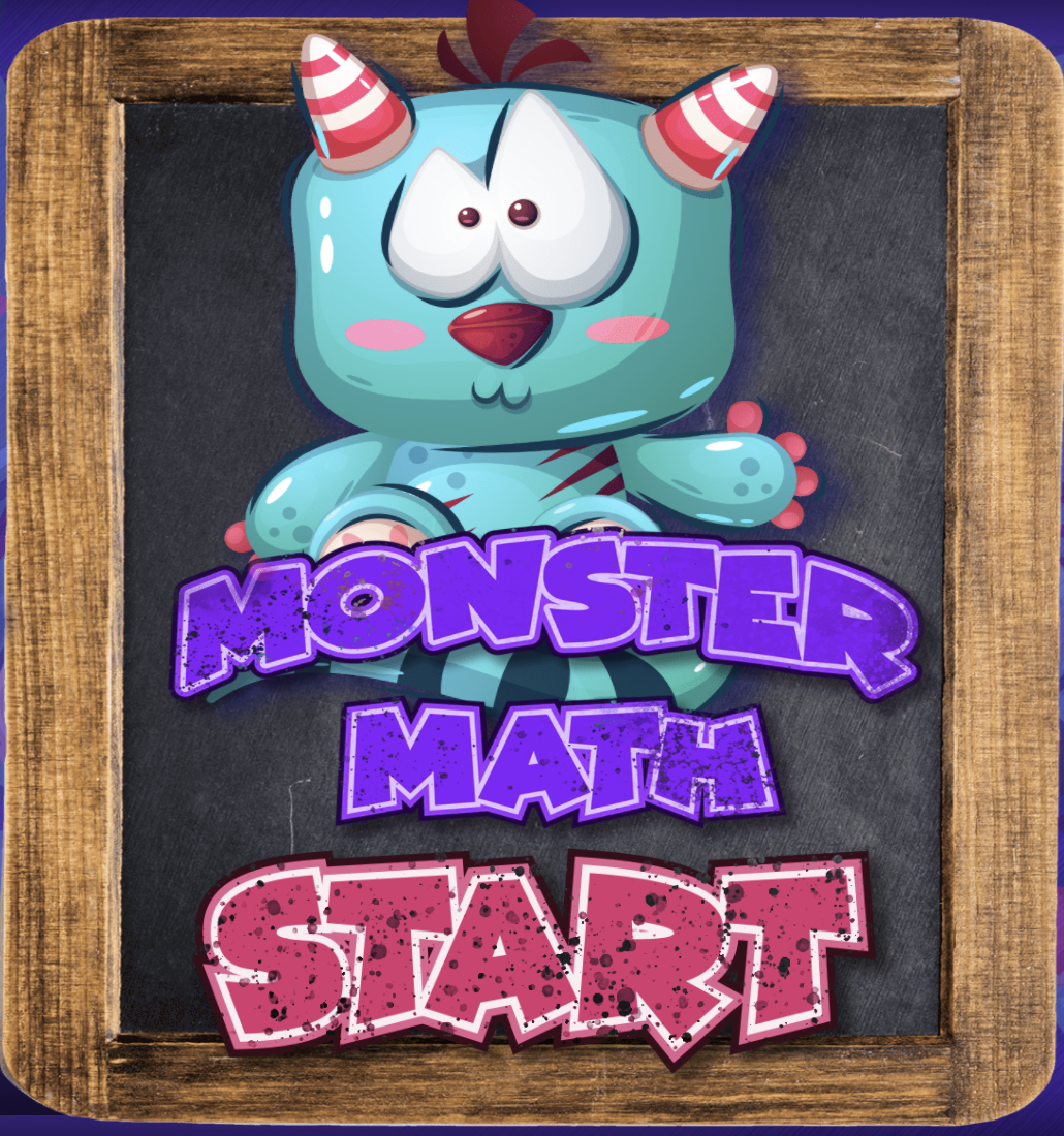 Monster Math Adding 1-10