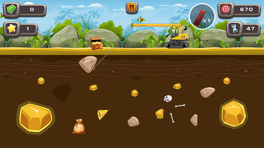 Image Gold Miner Game