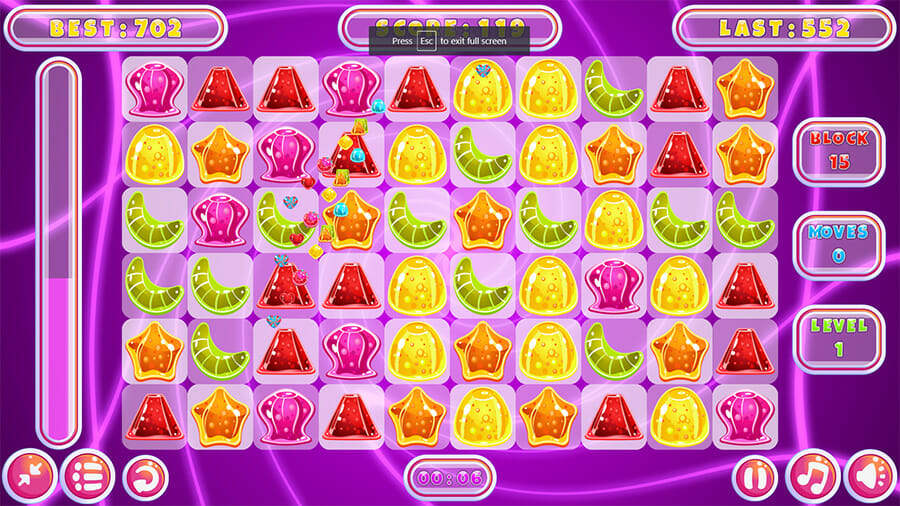 Image Jelly Match Game