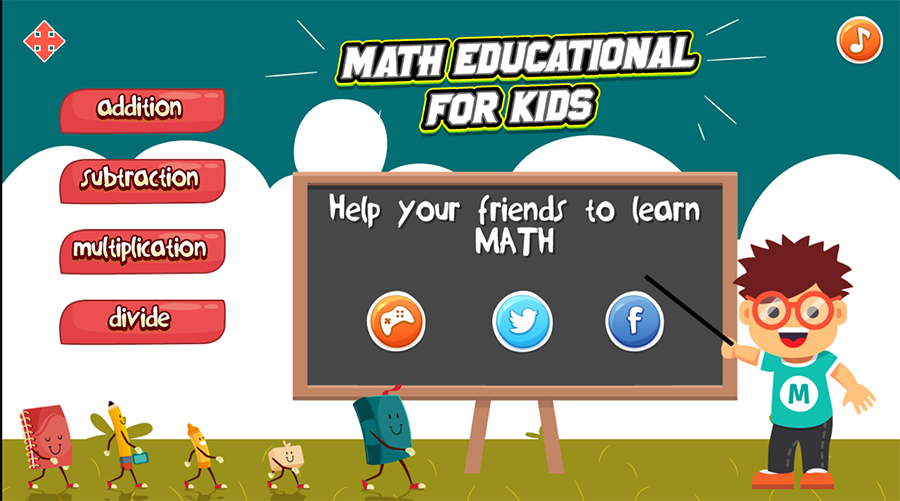Math Educational Game