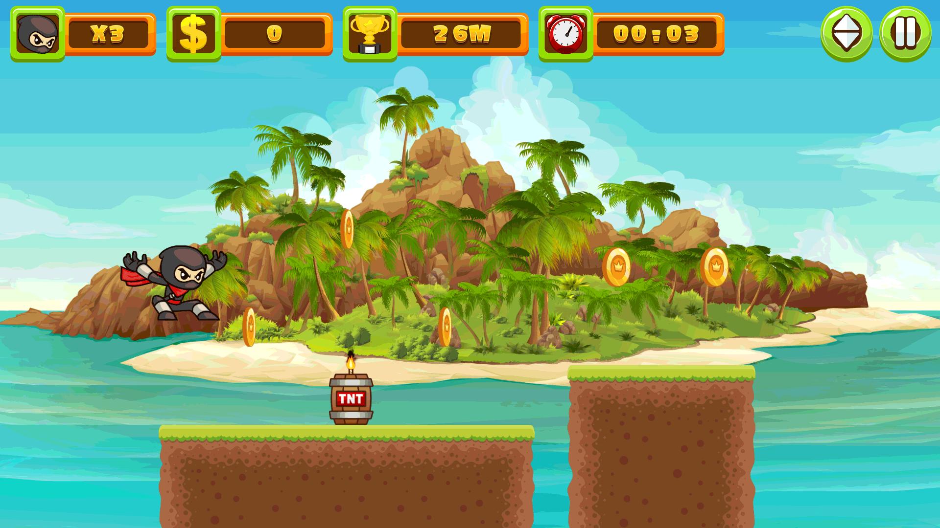 Image Ninja Run Game!