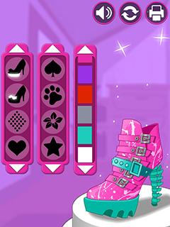 Image Shoe Designer - Marie's Girl Games